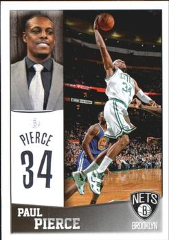 2013-14 Panini Stickers #21 Paul Pierce Front