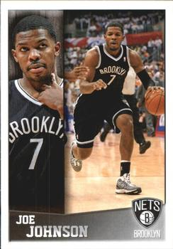 2013-14 Panini Stickers #22 Joe Johnson Front