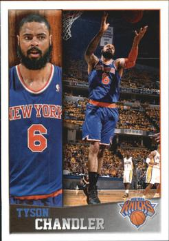 2013-14 Panini Stickers #25 Tyson Chandler Front