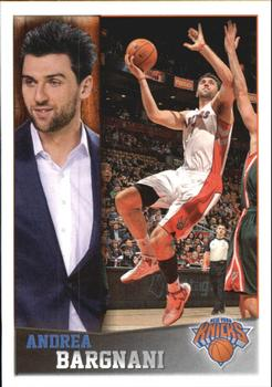 2013-14 Panini Stickers #26 Andrea Bargnani Front