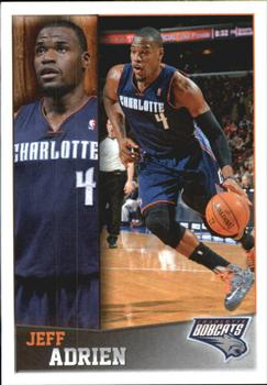 2013-14 Panini Stickers #118 Jeff Adrien Front