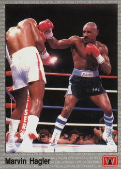 1991 All World #21 Marvin Hagler Front