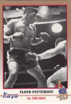 1991 Kayo #50 Floyd Patterson Front