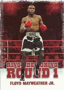 2010 Ringside Boxing Round One #17 Floyd Mayweather Jr. Front
