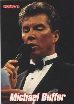 1999 Brown's #75 Michael Buffer Front