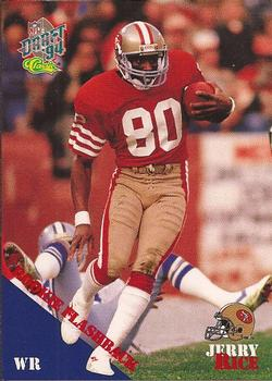 1994 Classic NFL Draft #100 Jerry Rice  Front