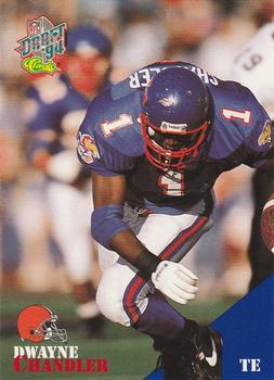 1994 Classic NFL Draft #8 Dwayne Chandler  Front