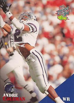 1994 Classic NFL Draft #9 Andre Coleman  Front