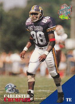 1994 Classic NFL Draft #10 Carlester Crumpler  Front