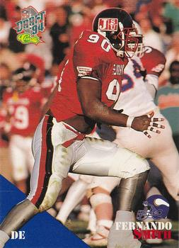 1994 Classic NFL Draft #34 Fernando Smith  Front