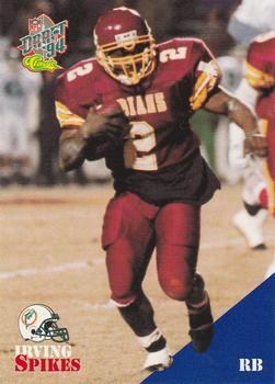 1994 Classic NFL Draft #37 Irving Spikes  Front