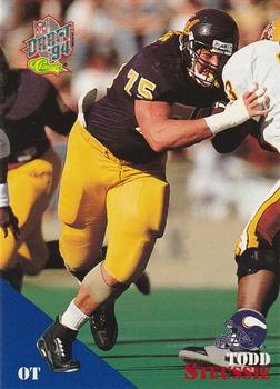 1994 Classic NFL Draft #38 Todd Steussie  Front