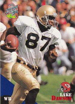 1994 Classic NFL Draft #53 Lake Dawson  Front