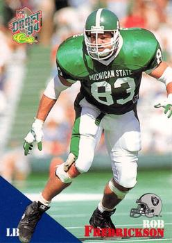 1994 Classic NFL Draft #57 Rob Fredrickson  Front