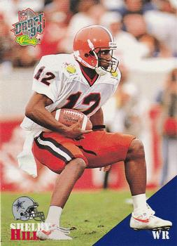1994 Classic NFL Draft #59 Shelby Hill  Front