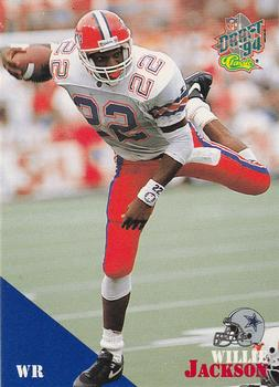 1994 Classic NFL Draft #60 Willie Jackson  Front