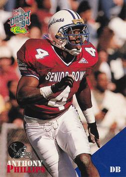 1994 Classic NFL Draft #84 Anthony Phillips  Front