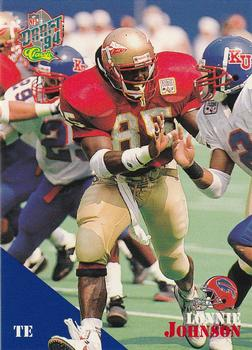 1994 Classic NFL Draft #92 Lonnie Johnson  Front