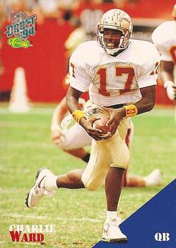 1994 Classic NFL Draft #81 Charlie Ward  Front