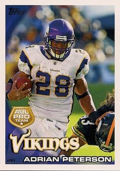 2010 Topps #103 Adrian Peterson  Front