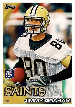 2010 Topps #265 Jimmy Graham  Front
