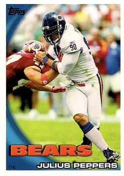 2010 Topps #306 Julius Peppers  Front