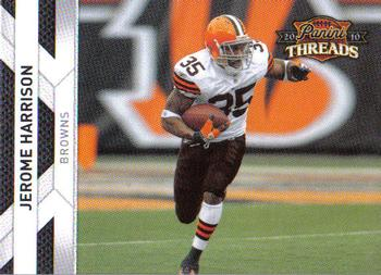 2010 Panini Threads #34 Jerome Harrison  Front