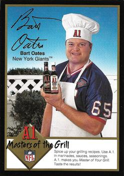 1994 A1 Masters of the Grill #NNO Bart Oates Front