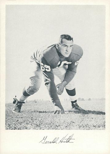 1957 Jay Publishing New York Giants #NNO Gerald Huth Front
