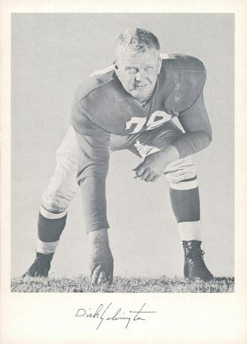 1957 Jay Publishing New York Giants #NNO Dick Yelvington Front