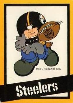 1983 NFL Properties Huddles #NNO Pittsburgh Steelers Front