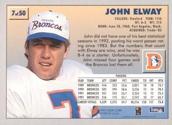 John Elway Gallery The Trading Card Database