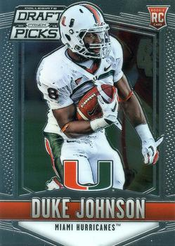 2015 Panini Prizm Collegiate Draft Picks #118 Duke Johnson Front