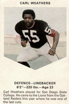 pretty nice f5186 bbdd3 Carl Weathers Gallery | The Trading Card Database