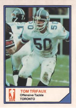 1983 JOGO CFL Limited #NNO Tom Trifaux Front