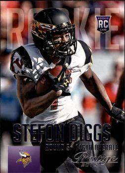 2015 Panini Prestige #285a Stefon Diggs Front