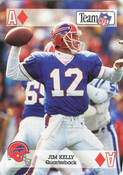 1992 Sport Decks NFL Playing Cards #AD Jim Kelly Front