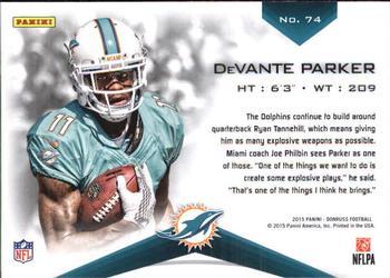2015 Donruss Elite Rookies #74 DeVante Parker Dolphins