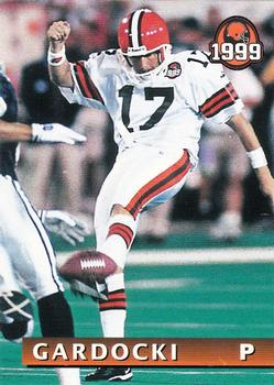 1999 Giant Eagle Cleveland Browns #23 Chris Gardocki Front