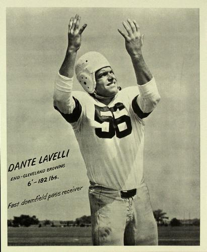 1949 SOHIO Cleveland Browns #NNO Dante Lavelli Front