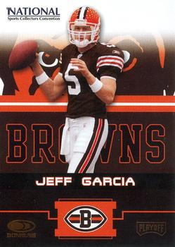 2004 Donruss Playoff National Cleveland Browns #6 Jeff Garcia Front