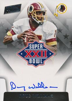 2015 Panini Black Gold - Super Bowl Signatures #SBXXII-DW Doug Williams Front