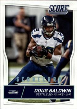 2017 Donruss Elite #92 Doug Baldwin Seattle Seahawks Football Card