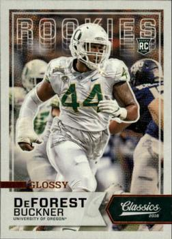 #207 2016 PANINI Playoff Football Rookie DeForest Buckner,