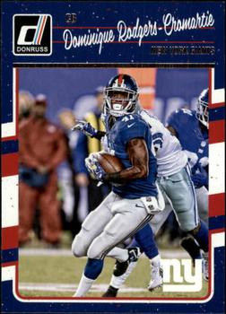 2016 Donruss #202 Dominique Rodgers-Cromartie Front