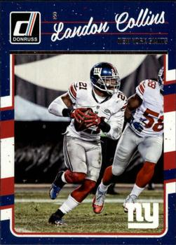 2016 Donruss #206 Landon Collins Front