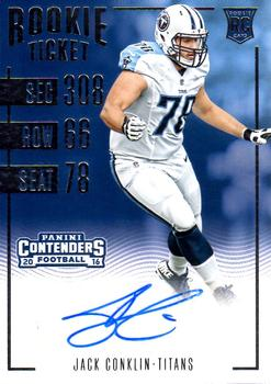2016 Panini Contenders #125 Jack Conklin Front