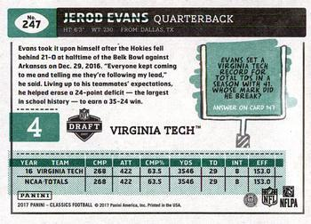 2017 Panini Contenders Draft Picks School Colors #14 Isaiah Ford Virginia Tech