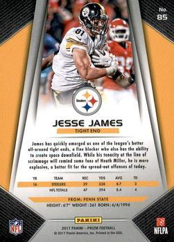 d6268a8ea 2017 Panini Prizm  85 Jesse James Back