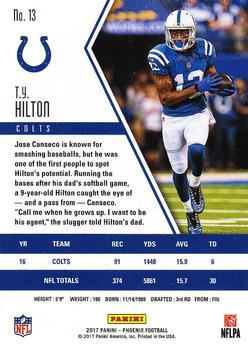 38a99700 T.Y. Hilton Gallery | The Trading Card Database